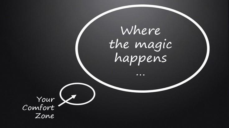Komfortzone Glück Comfort one happiness Emotion Magic Magie